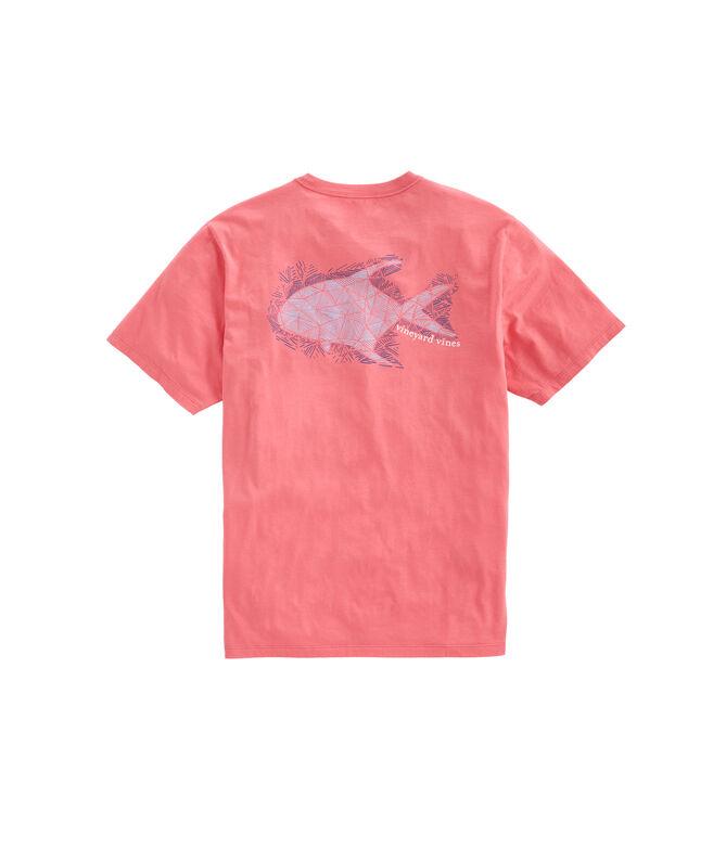 Hatched Permit Pocket T-Shirt