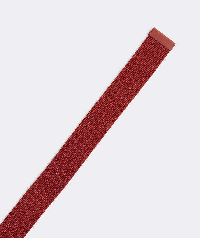 Textured Webbing On-The-Go D-Ring Belt