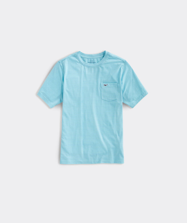 Boys' Soft Jersey Crew Short-Sleeve Tee