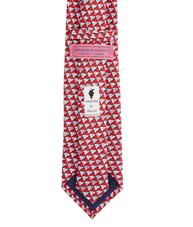 Boys Nautical Flags Printed Tie