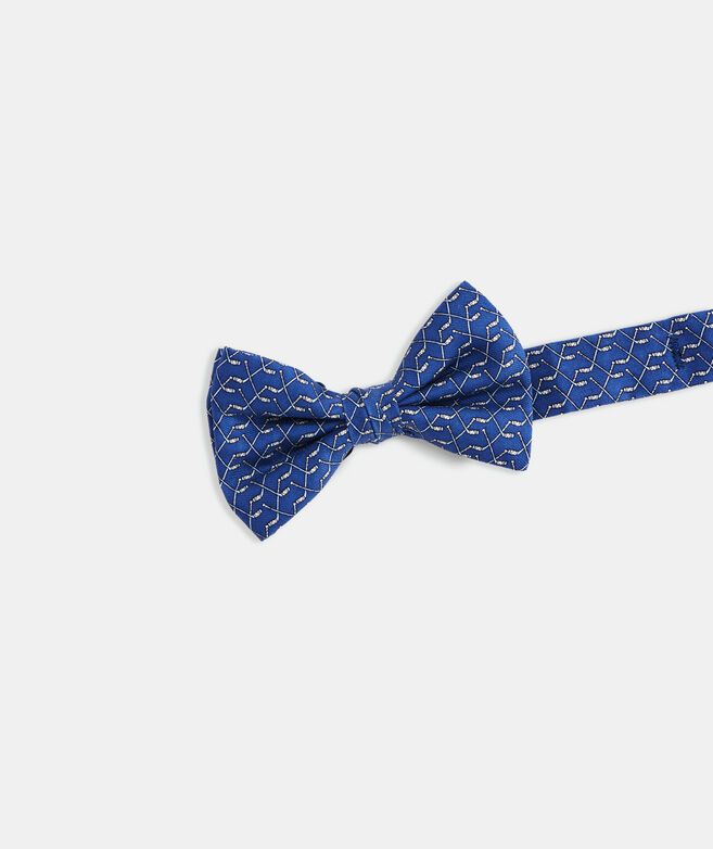 Boys' Hockey Sticks Printed Bow Tie