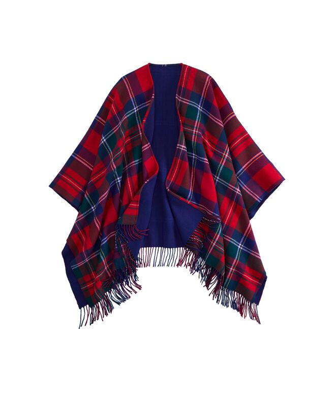 Merry Plaid Woven Wrap