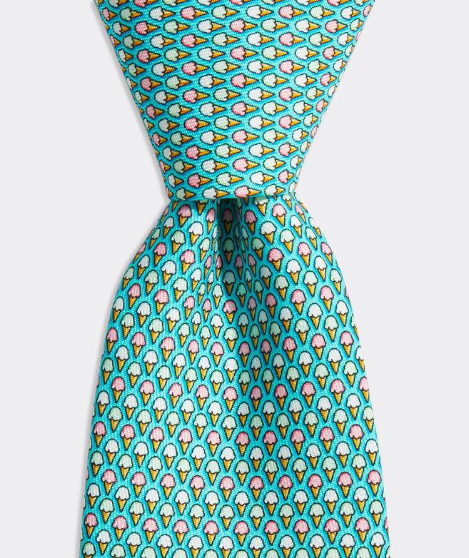 Boys' Ice Cream Printed Tie