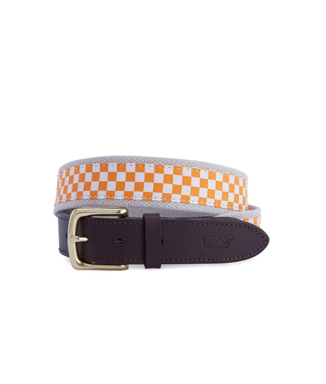 University of Tennessee Canvas Club Belt