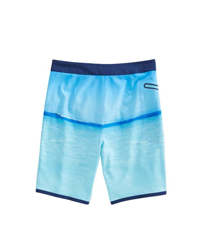 Photo Reel Sailing Stripe Board Shorts