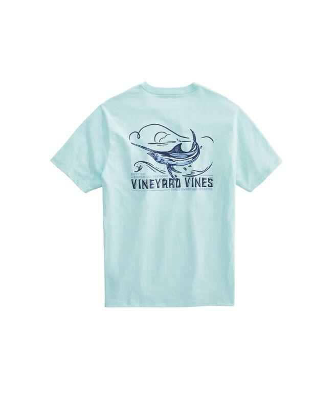 Fishing For Marlin Short-Sleeve Pocket T-Shirt