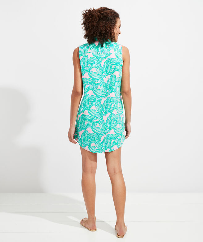 Banana Leaf Margo Shirt Dress