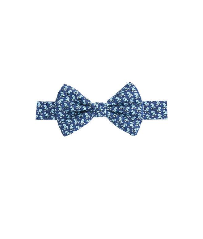 Boys Octopus Printed Bow Tie