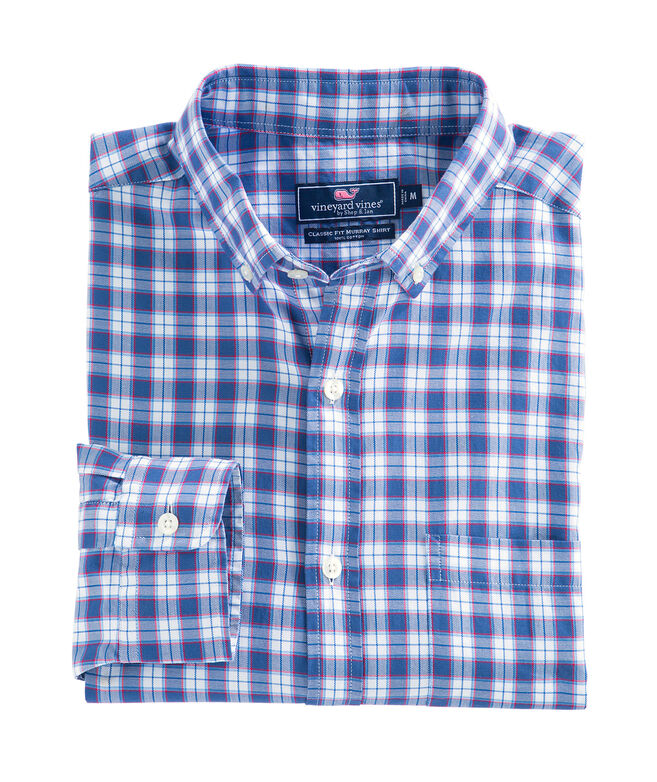 Edgewater Plaid Classic Murray Shirt