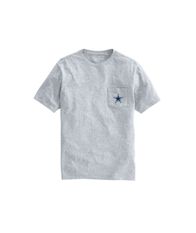 Adult Cowboys Short-Sleeve Block-Stripe T-Shirt