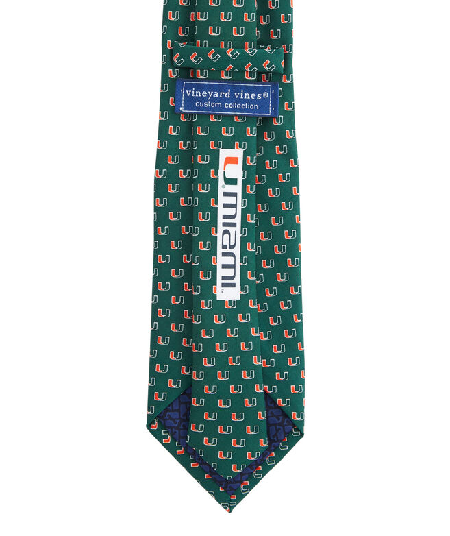 University of Miami Tie