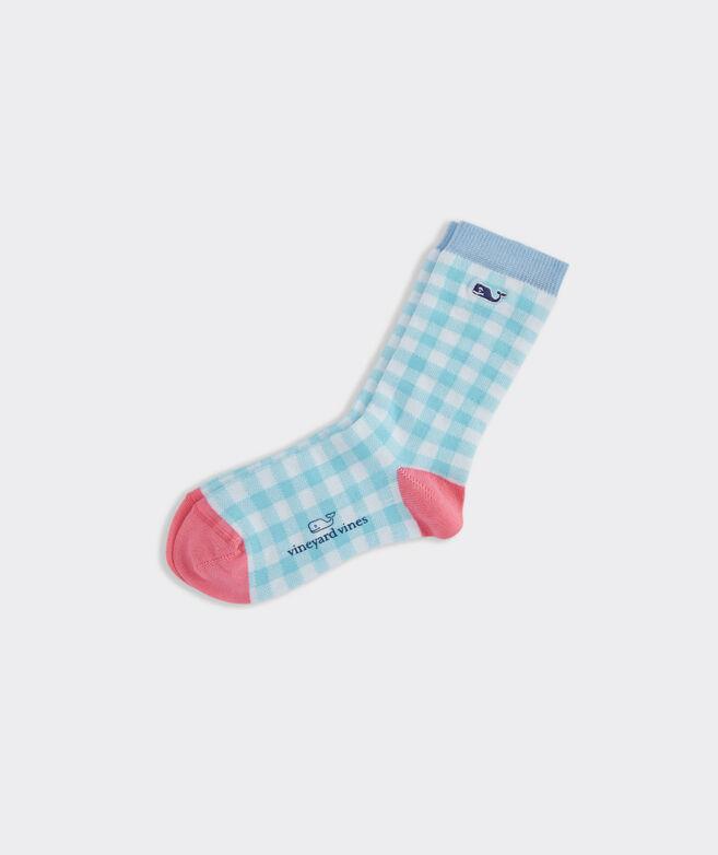Boys' Palm Beach Plaid Socks
