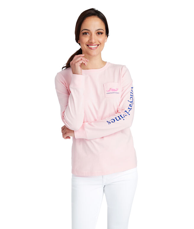 Long-Sleeve Mothers Day Pocket Tee