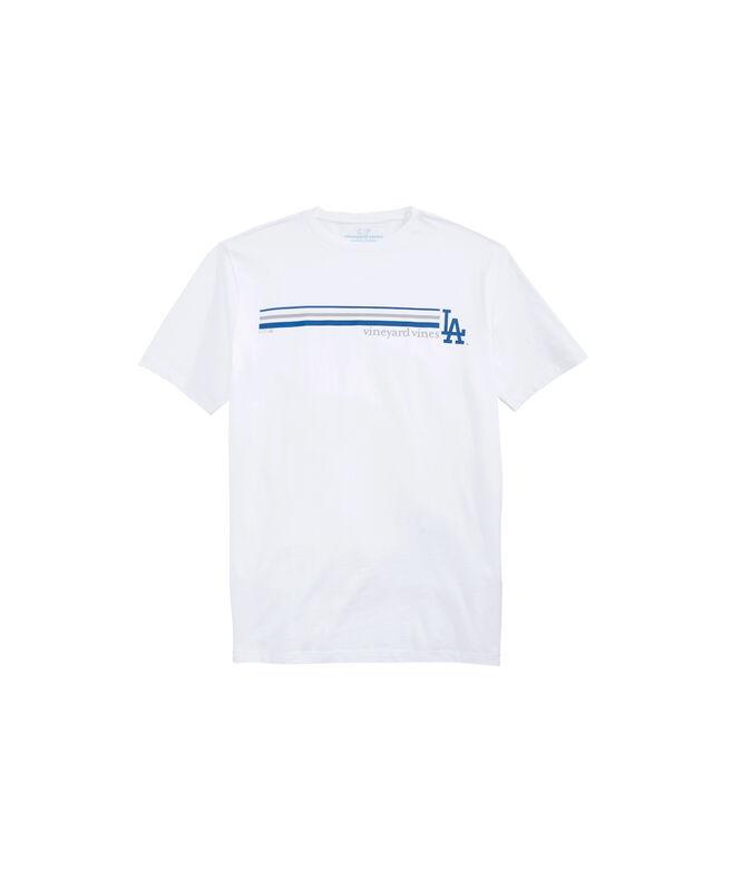 Los Angeles Dodgers 3 Stripe T-Shirt
