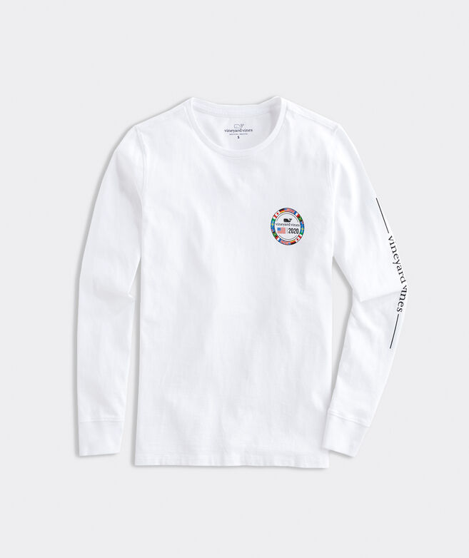 World Flags Long-Sleeve Tee