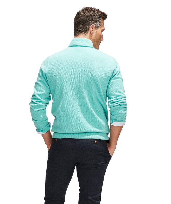 Yachtsman's 1/4-Zip Cashmere Sweater