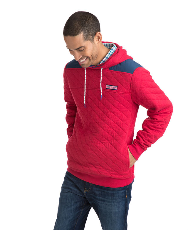 Quilted Shep Shirt Hoodie