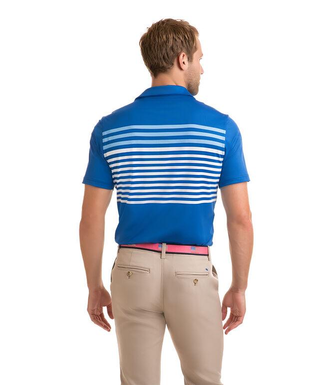 Knox Jersey Stripe Sankaty Performance Polo