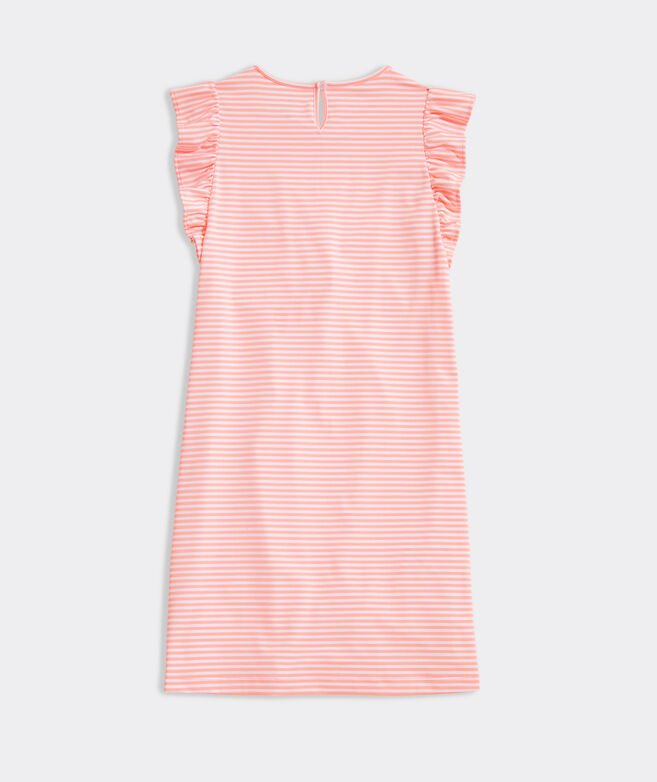 Girls' Ruffle Sleeve Sankaty Dress