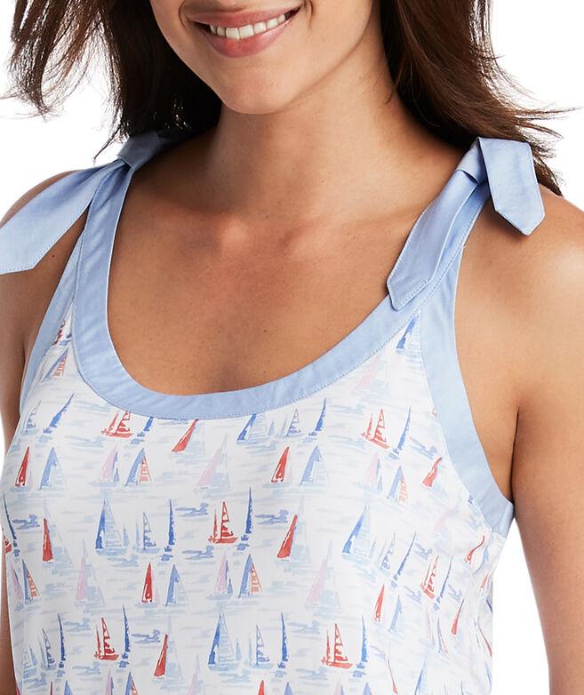 Sailboat Sankaty Swing Dress