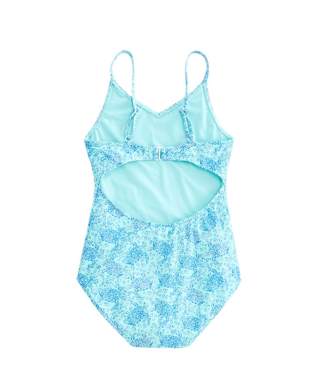 Girls Sea Turtles One-Piece