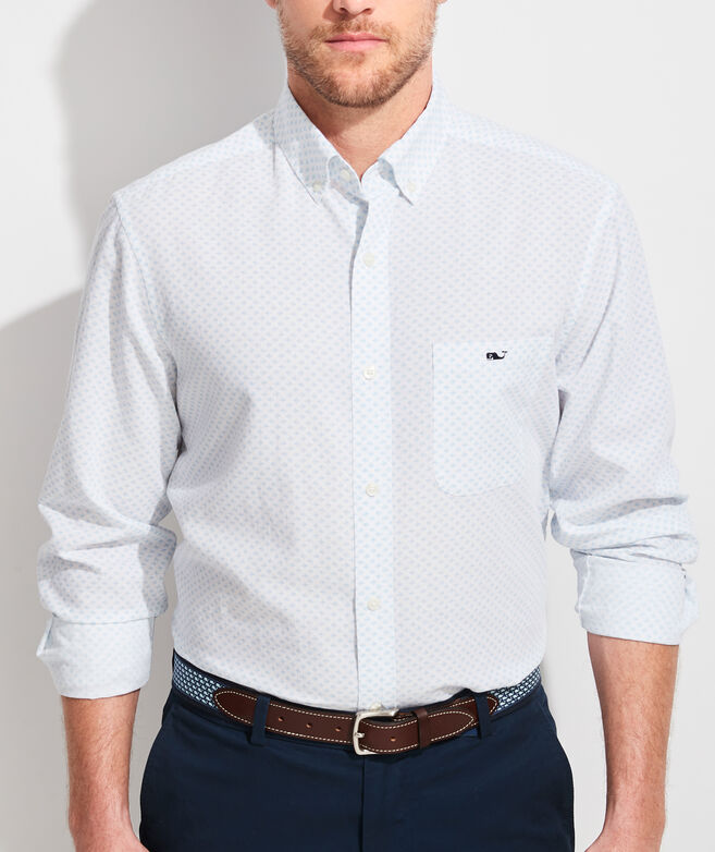 Classic Fit Floridian Tucker Button-Down Shirt