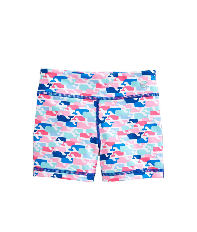 Girls Multi Whale Performance Tumble Shorts