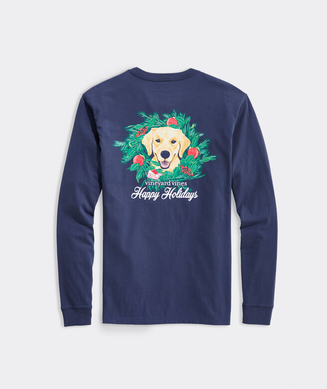 Big & Tall Family's Best Friend Long-Sleeve Pocket Tee