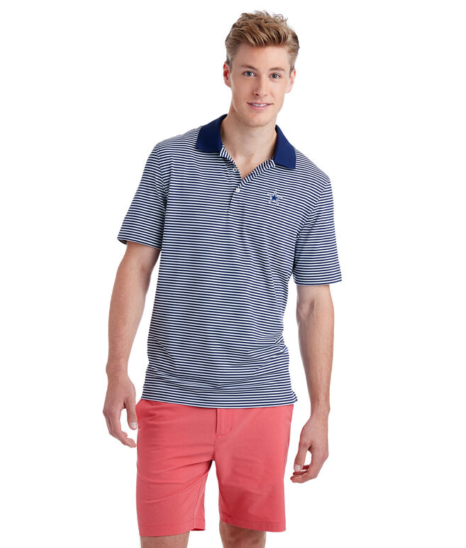 Dallas Cowboys Porter Stripe Polo
