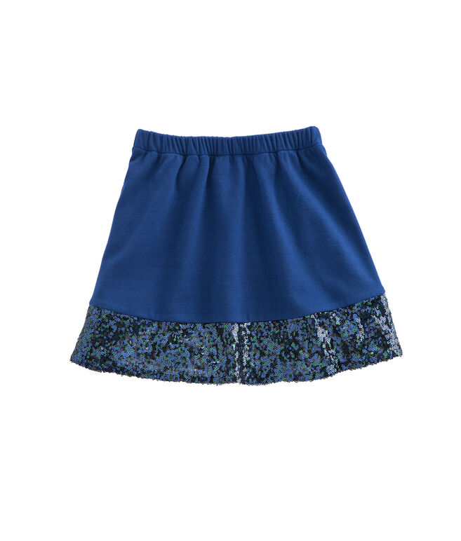 Girls Sequin Band Party Skirt