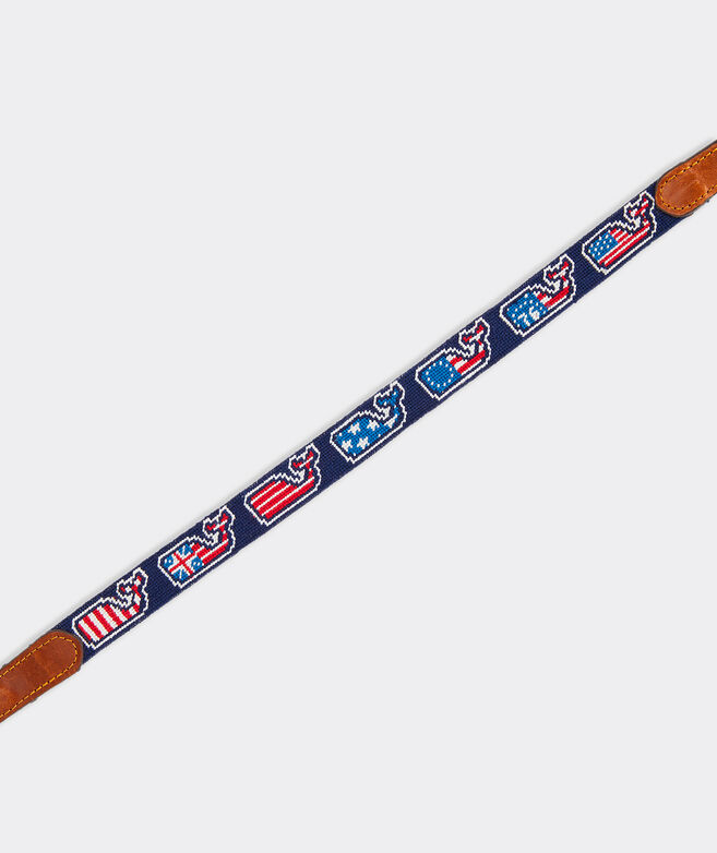 vineyard vines x Smathers & Branson Flag Evolution Whale Sunglass Strap