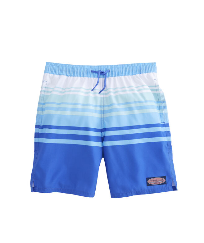 Boys Dusk Stripe Chappy Trunks