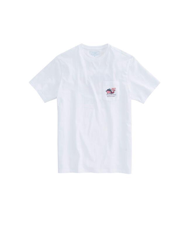 Kentucky Derby Bugle Whale Pocket T-Shirt
