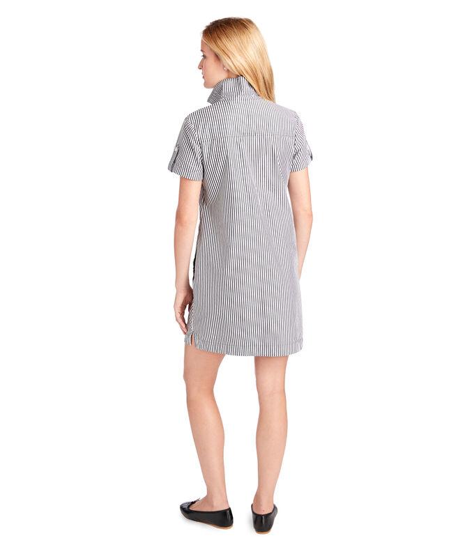 Striped Utility Margo Shirt Dress
