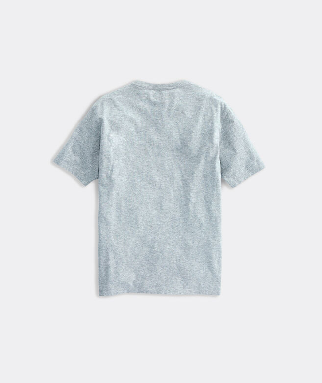 Heathered Vineyard Basic Bonefish Short-Sleeve Island Tee