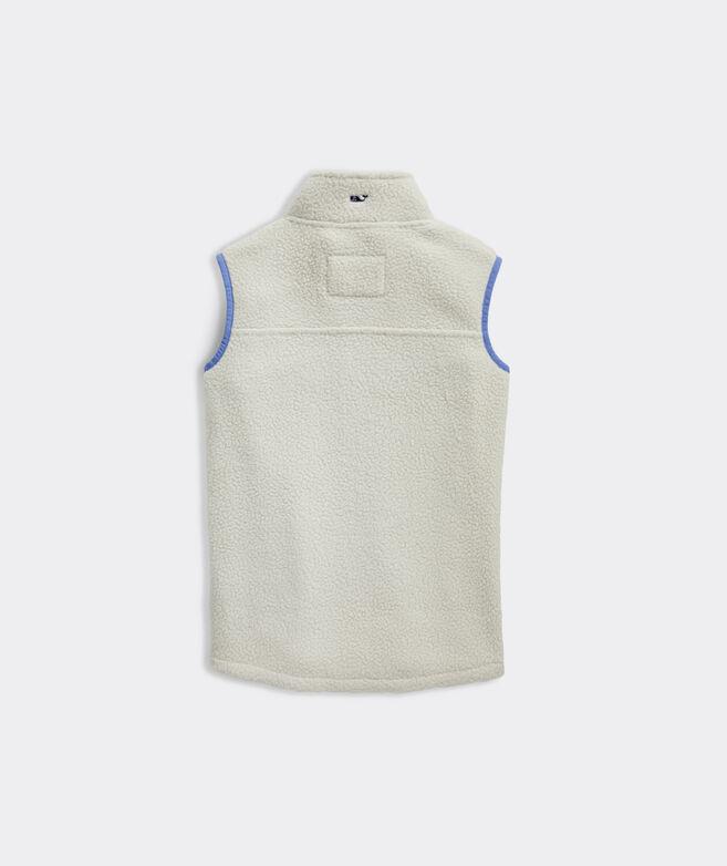 Girls Full-Zip Sherpa Vest