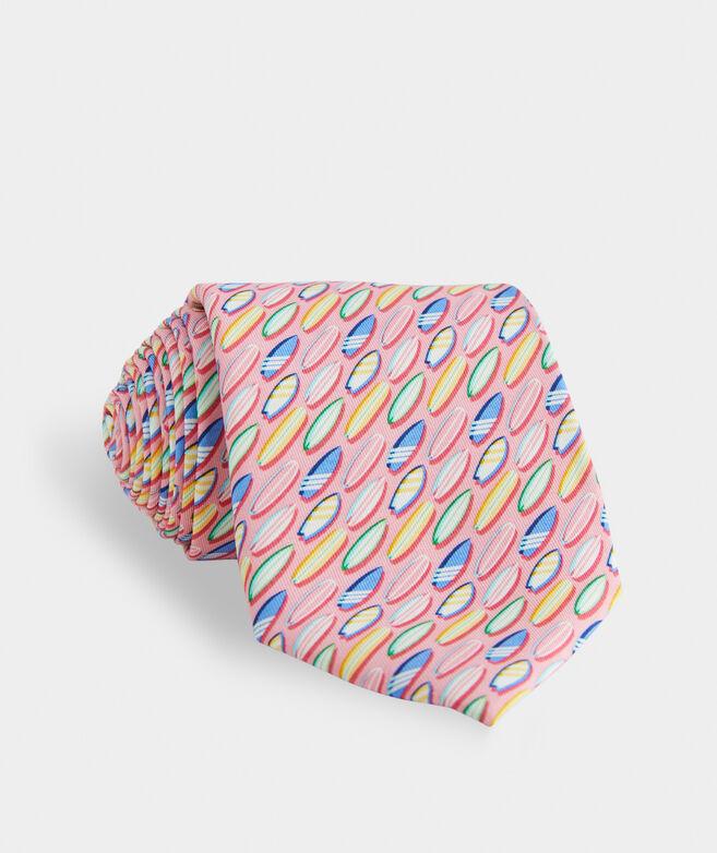 Surfboards Printed Tie