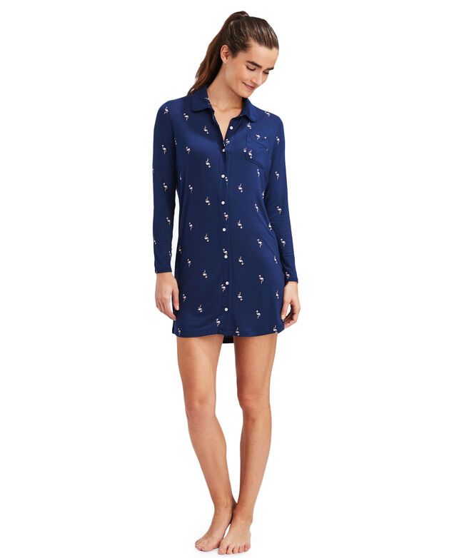 Knit Sleep Shirt