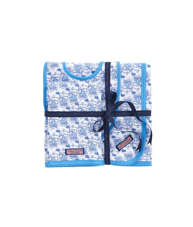 Sailboat Print Diaper Bag Essentials