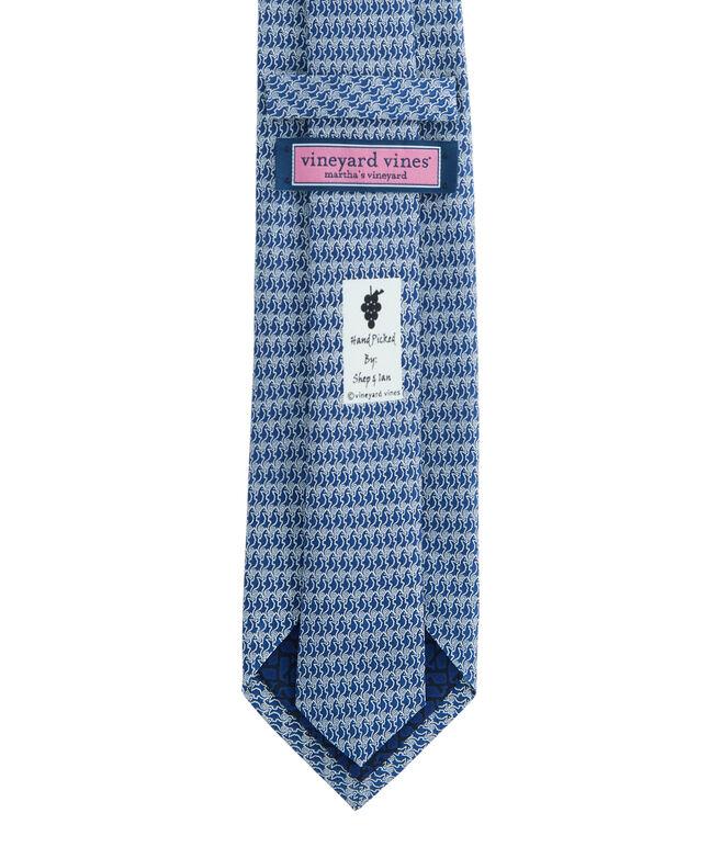 Seahorses Printed Tie