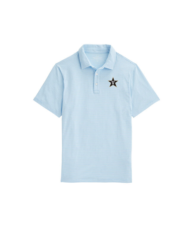 Vanderbilt University Feeder Stripe Edgartown Polo