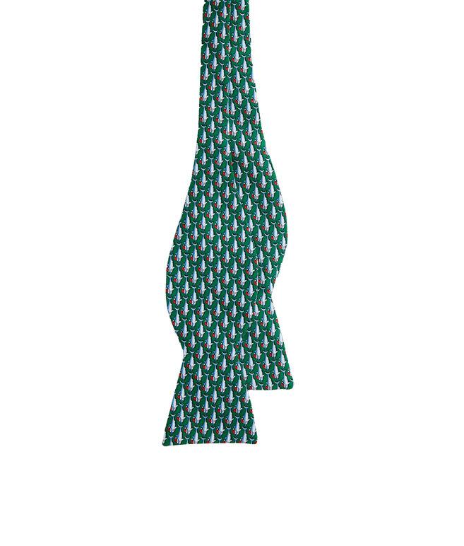Santa Jaws Bow Tie