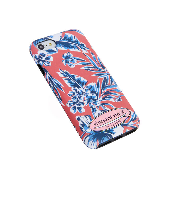 Guana Floral 7/8 Iphone Case