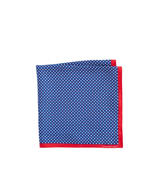Star Spangled Pocket Square