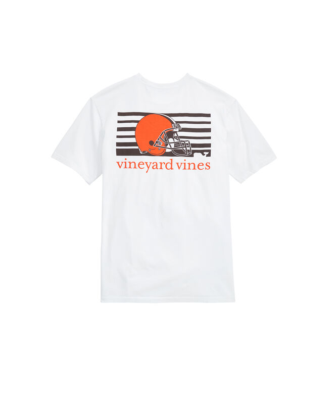 Cleveland Browns Block Stripe Tee