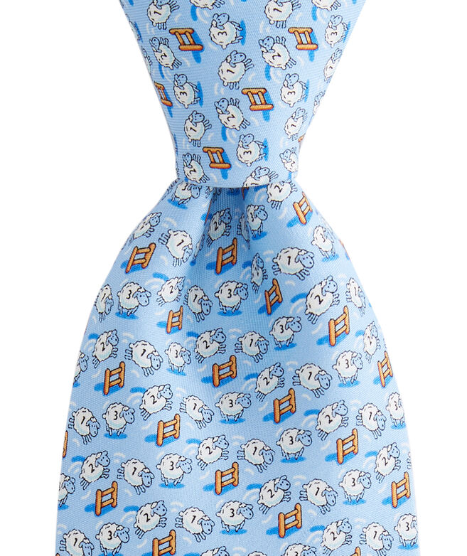 Counting Sheep Printed Tie