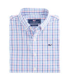 Boys Dering Check Whale Shirt