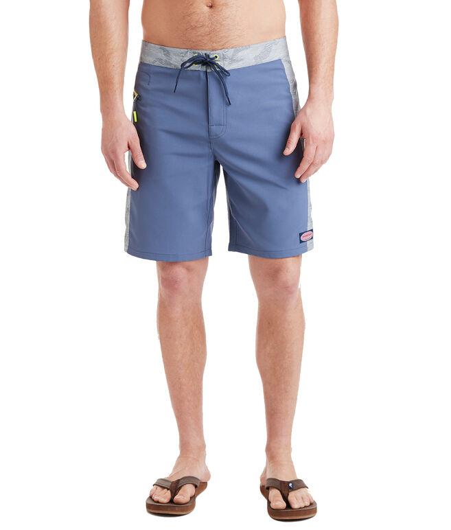 Camo Pieced Board Shorts