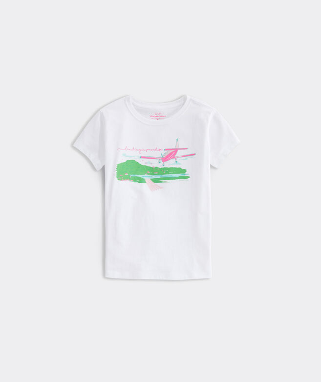 Girls' Landing in Paradise Tee
