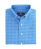 Boys Fishlock Gingham Whale Shirt